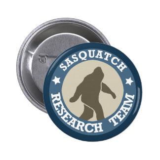 Equipo de investigación de Sasquatch Pin Redondo De 2 Pulgadas