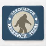 Equipo de investigación de Sasquatch Alfombrilla De Ratones