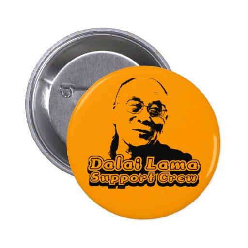 Equipo de la ayuda de Dalai Lama Pin Redondo 5 Cm