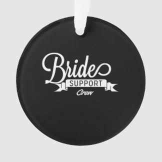 Equipo de la ayuda de la novia