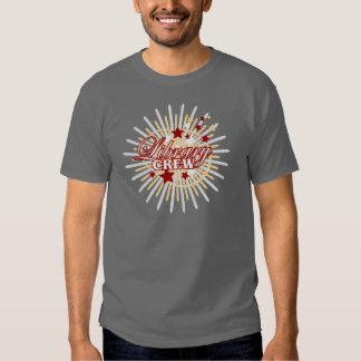 Equipo de la biblioteca camisas