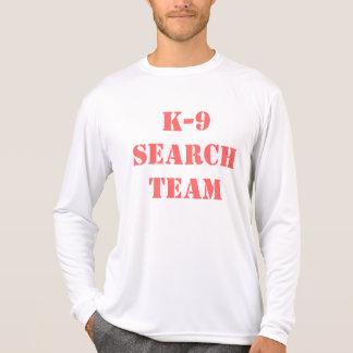 Equipo de la búsqueda K-9 Camisetas
