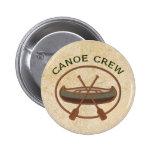 Equipo de la canoa pins