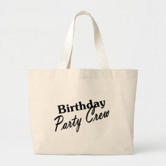Equipo de la fiesta de cumpleaños bolsas