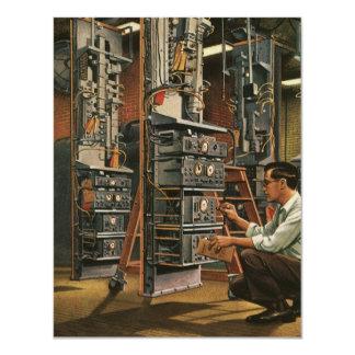Equipo de la fijación del técnico de la radio del comunicado personalizado