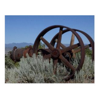 Equipo de la mina de Nevada Postal