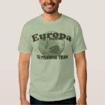 Equipo de la pesca del hielo del Europa Camisas