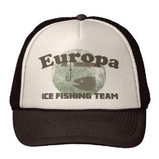 Equipo de la pesca del hielo del Europa Gorro De Camionero