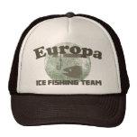 Equipo de la pesca del hielo del Europa Gorros