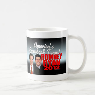 Equipo de la reaparición de América Tazas De Café