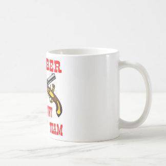 Equipo de la respuesta de la tiranía del miembro taza de café