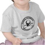 Equipo de la respuesta del brote del zombi (bander camisetas