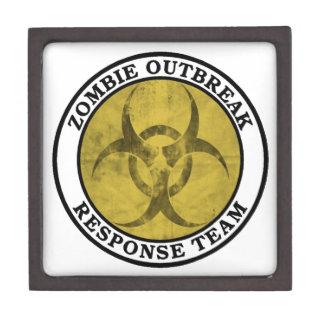 Equipo de la respuesta del brote del zombi Biohaz Cajas De Joyas De Calidad