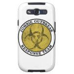 Equipo de la respuesta del brote del zombi (Biohaz Galaxy SIII Protectores