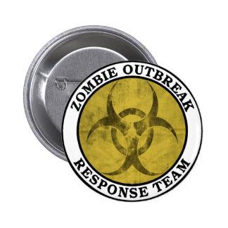 Equipo de la respuesta del brote del zombi (Biohaz Pin