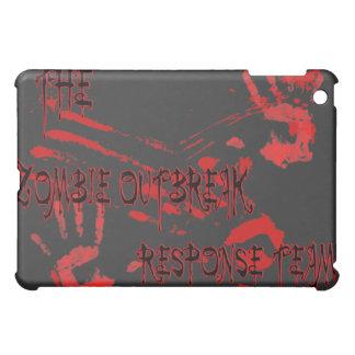 equipo de la respuesta del brote del zombi del cas