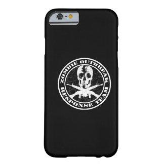 Equipo de la respuesta del brote del zombi funda barely there iPhone 6