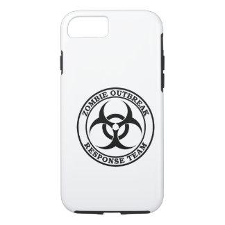 Equipo de la respuesta del brote del zombi funda iPhone 7