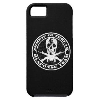 Equipo de la respuesta del brote del zombi funda para iPhone SE/5/5s