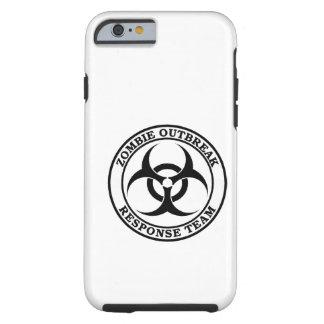 Equipo de la respuesta del brote del zombi funda resistente iPhone 6