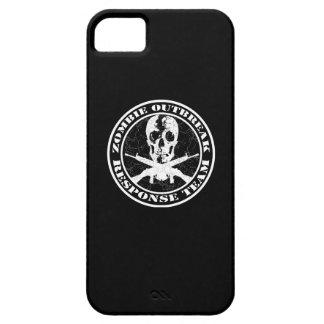 Equipo de la respuesta del brote del zombi iPhone 5 fundas