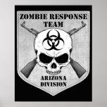 Equipo de la respuesta del zombi: División de Ariz Impresiones