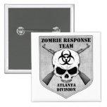 Equipo de la respuesta del zombi: División de Atla Pins