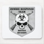 Equipo de la respuesta del zombi: División de Bost Tapetes De Ratón
