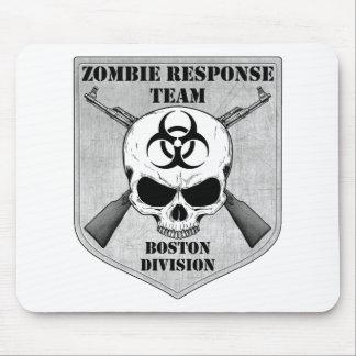 Equipo de la respuesta del zombi División de Bost Tapetes De Ratón
