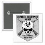 Equipo de la respuesta del zombi: División de Cali Pins