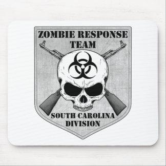 Equipo de la respuesta del zombi: División de Caro Tapetes De Ratón