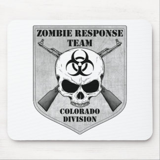 Equipo de la respuesta del zombi: División de Colo Alfombrillas De Ratón
