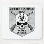 Equipo de la respuesta del zombi: División de Denv Alfombrilla De Raton