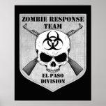 Equipo de la respuesta del zombi: División de El P Posters