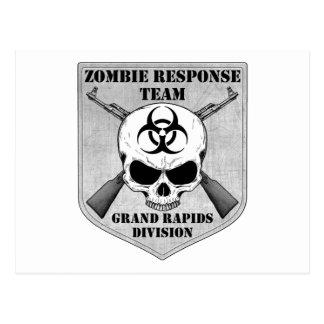 Equipo de la respuesta del zombi: División de Gran Tarjeta Postal