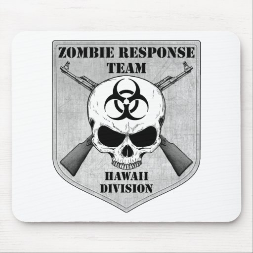 Equipo de la respuesta del zombi: División de Hawa Tapetes De Raton