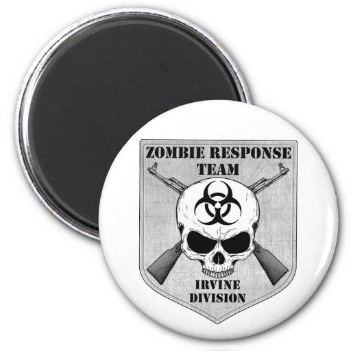 Equipo de la respuesta del zombi: División de Irvi Imán De Nevera