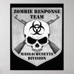 Equipo de la respuesta del zombi: División de Mass Poster
