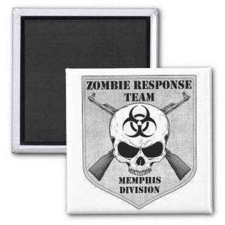 Equipo de la respuesta del zombi: División de Memp Imán Cuadrado