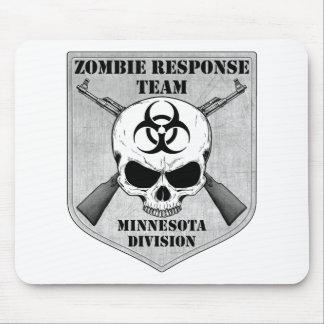 Equipo de la respuesta del zombi: División de Minn Mouse Pads