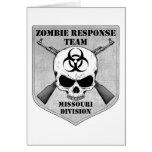 Equipo de la respuesta del zombi: División de Miss Tarjetas