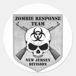 Equipo de la respuesta del zombi: División de New Etiqueta Redonda
