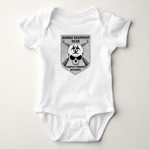 Equipo de la respuesta del zombi: División de Tee Shirts