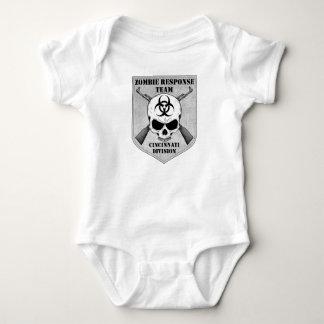 Equipo de la respuesta del zombi: División de Camiseta