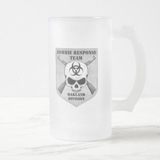 Equipo de la respuesta del zombi: División de Taza De Cristal