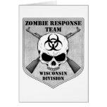 Equipo de la respuesta del zombi: División de Wisc Felicitaciones