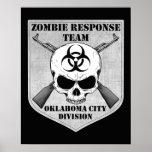 Equipo de la respuesta del zombi: División del Okl Impresiones
