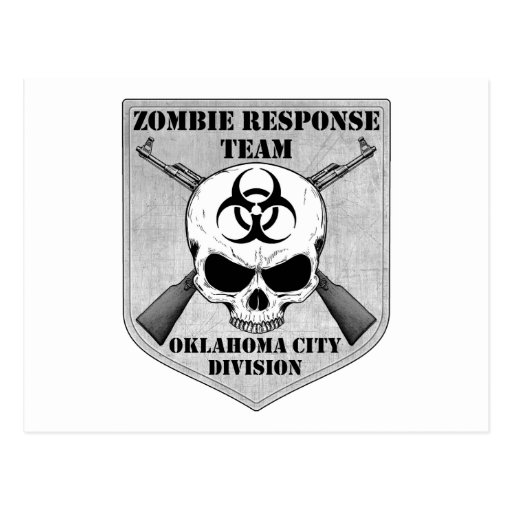 Equipo de la respuesta del zombi: División del Tarjetas Postales