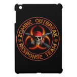Equipo de la respuesta del zombi iPad mini carcasas