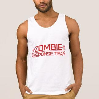 Equipo de la respuesta del zombi camisetas